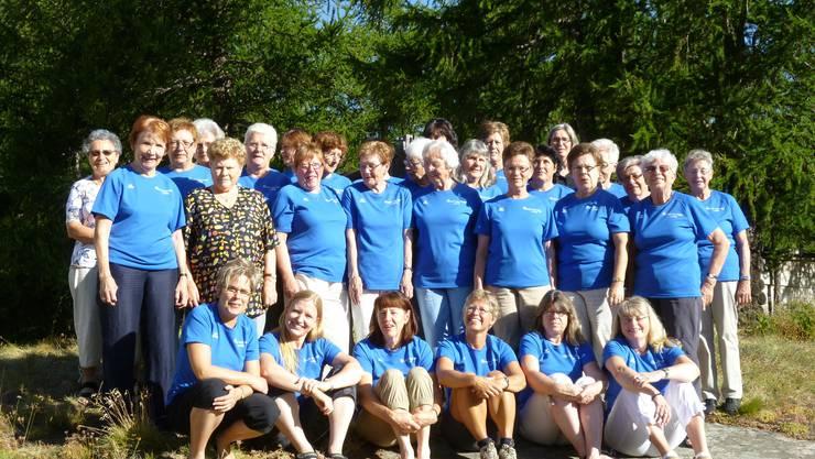 Gruppenfoto anlässlich der Jubiläumsreise August 2012