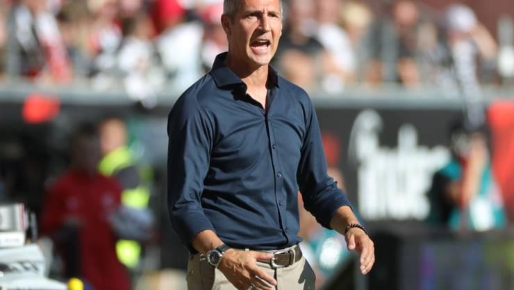Adi Hütter zeigt bei Eintracht Frankfurt das Engagement, mit dem er YB zum Meistertitel geführt hat