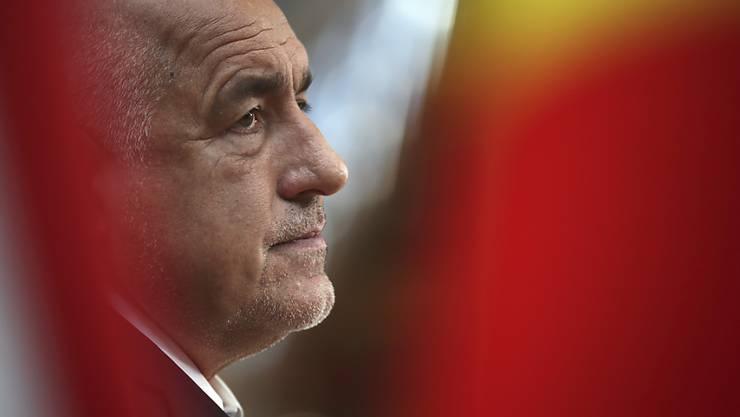 Bulgariens Premierminister Bojko Borissow steht massive unter Druck. Foto: Francisco Seco/AP Pool/dpa
