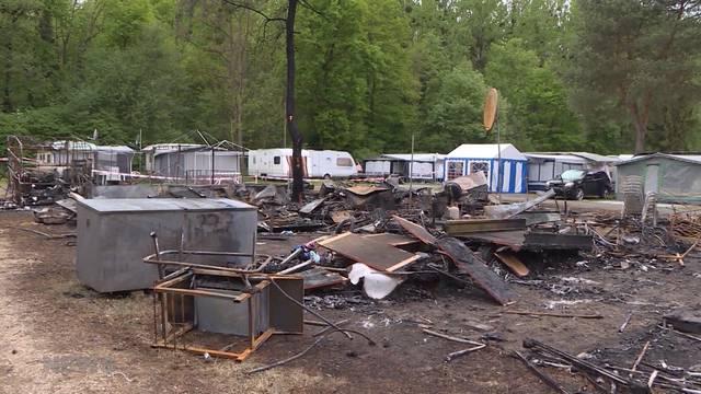 Salavaux: Explosion auf dem Campingplatz