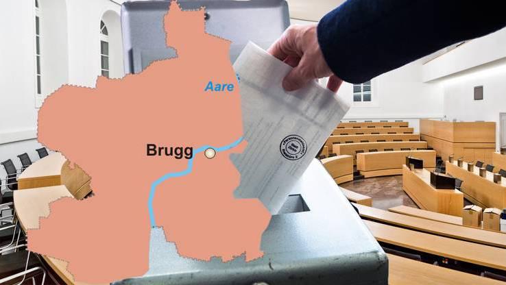 Die Stimmbürger aus dem Bezirk Brugg haben am Sonntag gewählt.