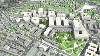So sahen die Pläne zum Hochschulgebiet Zürich Zentrum 2015 aus.