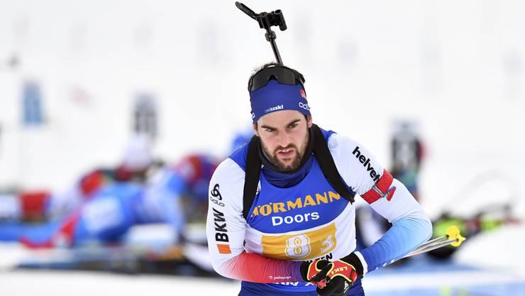 Am Donnerstag beginnt für Mario Dolder die Biathlon-WM in Antholz.