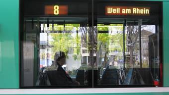 Voraussichtlich am 14. Dezember 2014 wird das erste Tram von Basel nach Weil am Rhein fahren.