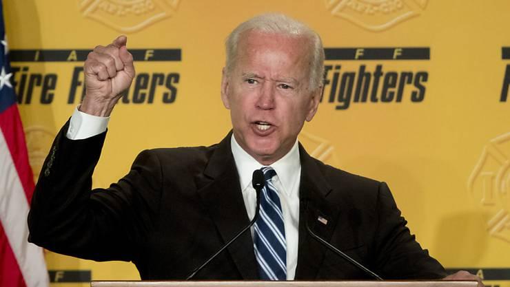 Der US-Politiker und ehemalige US-Vizepräsident Joe Biden hat sich am Mittwoch in einem Video zu Belästigungsvorwürfen geäussert. (Archivbild)