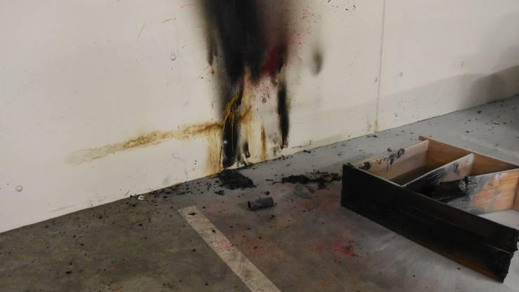 Dank der frühen Entdeckung des Brandes konnte Schlimmeres verhindert werden.