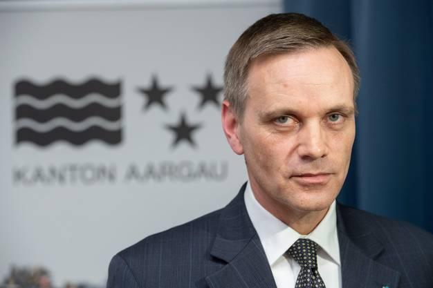 Jean-Pierre Gallati, Gesundheitsdirektor der Kantons Aargau