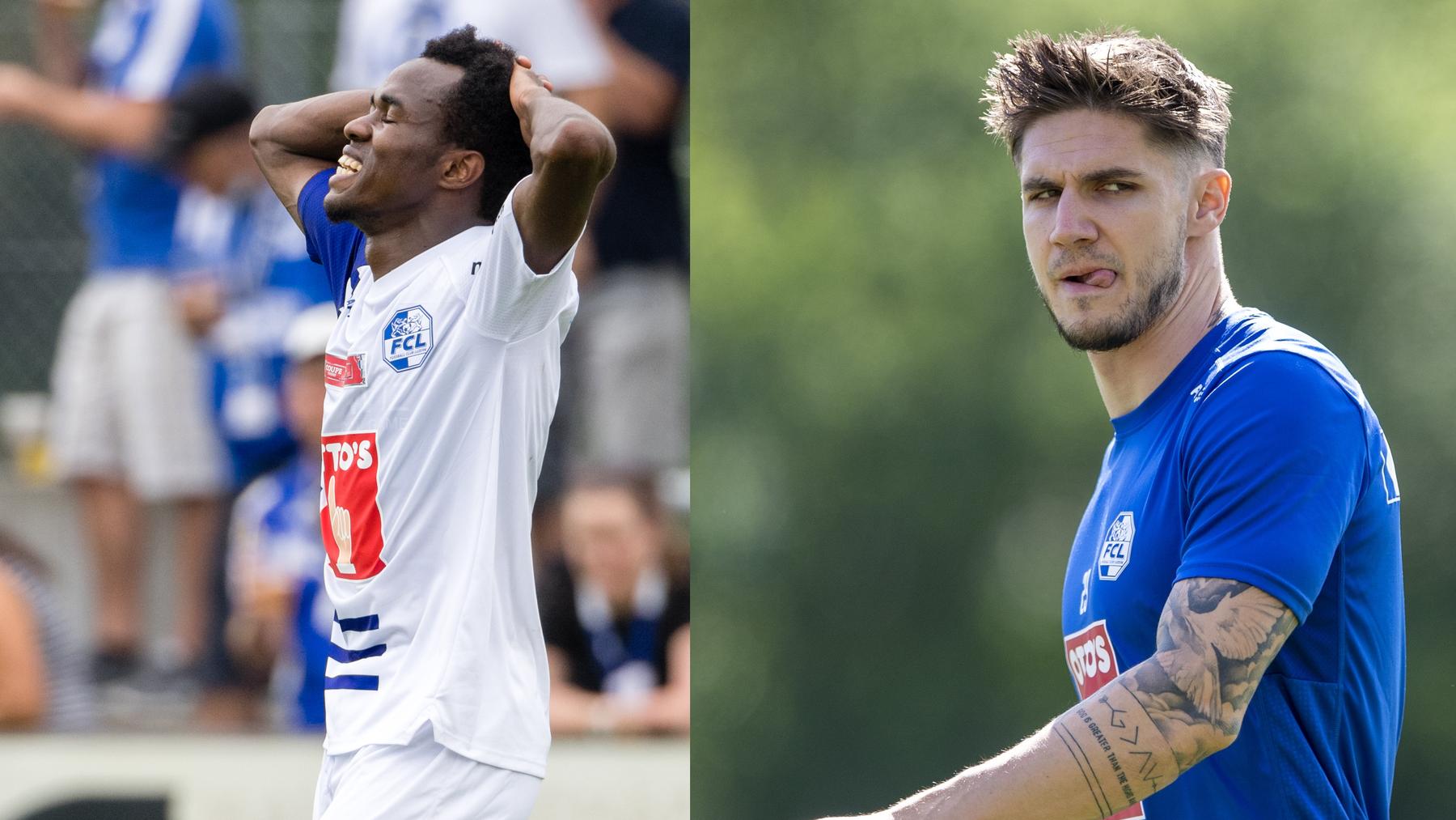 Verletzte Spieler FC Luzern: Ibrahima Ndiaye / Patrick Farkas