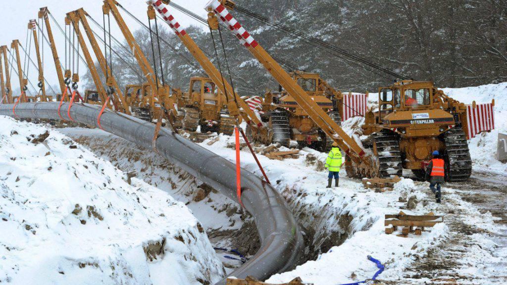 USA bereiten Sanktionen gegen Gaspipeline Nordstream 2 vor