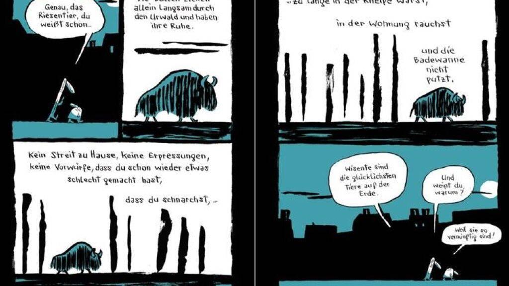 Gespräche unter Freunden: Die Graphic Novel «Nachtgestalten»