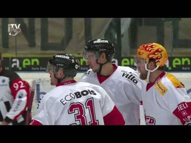 EHC Olten - Red Ice 2:3 n. V.; 19. Meisterschaftspiel NLB 16/17