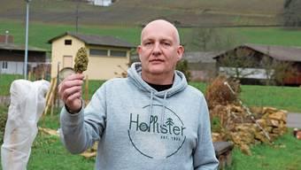 Kennt sich mit der Produktion von Hanf aus und will bald in Frick anpflanzen: Daniel Essmann.