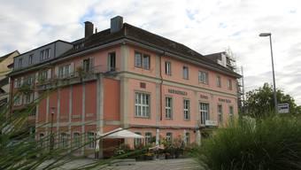 Die Trattoria Rotes Haus ist eines der grössten Restaurants in Brugg.