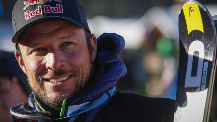 Aksel Lund Svindal kann wieder lachen: Sein Comeback steht bevor.