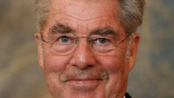 Bundespräsident Heinz Fischer in der Hofburg in Wien