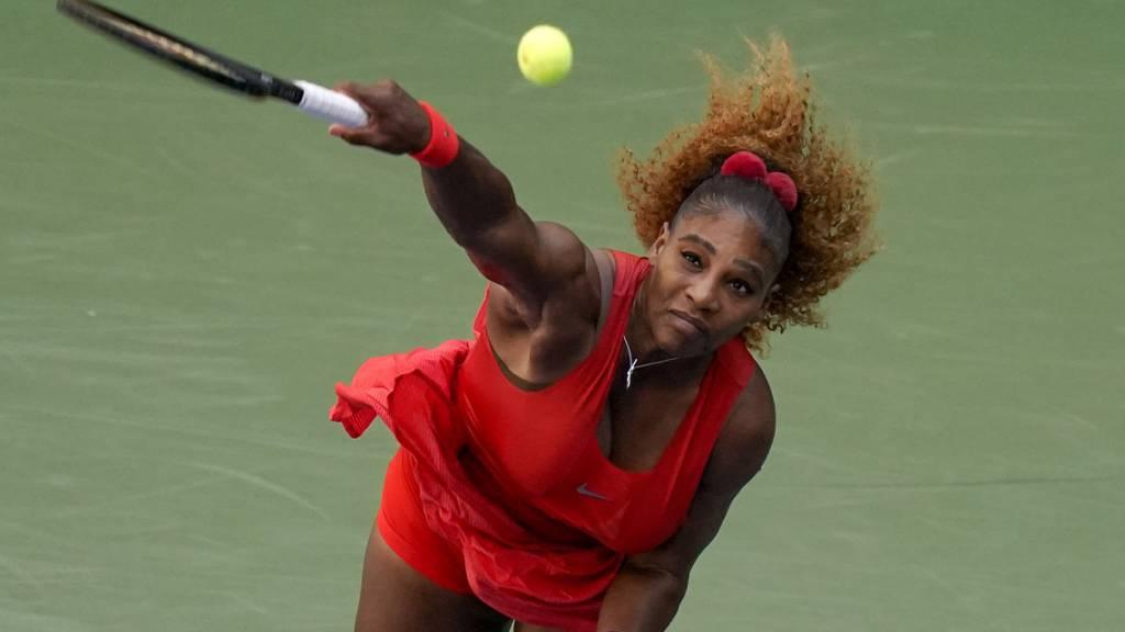 Steigerungslauf von Serena Williams