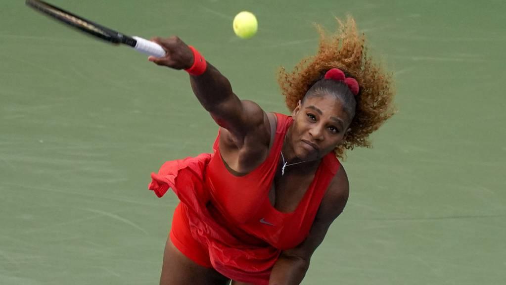 Serena Williams spielte für Sloane Stephens im brisantesten Drittrundenspiel bei den Frauen zu druckvoll