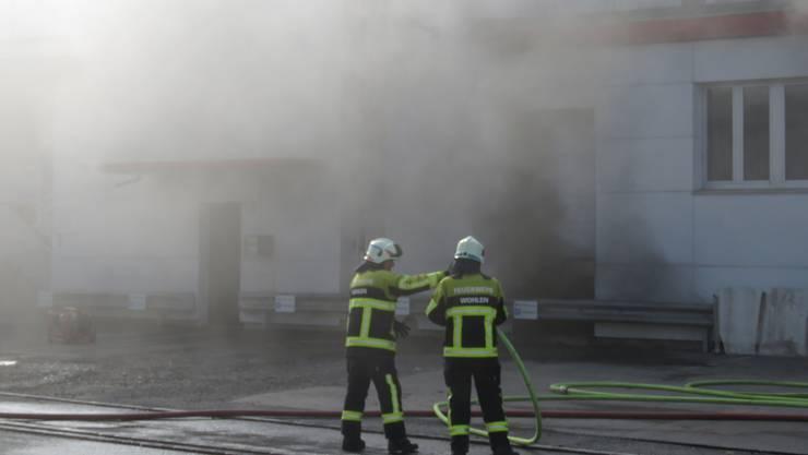 Beim Brand in der Metzgerei wurde niemand verletzt.