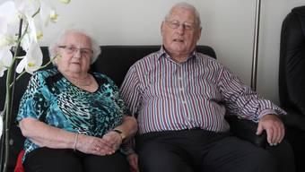 Da können nicht viele Menschen mithalten : Hugo und Ruth Grolimund-Strub blicken auf 65 gemeinsame Ehejahre zurück.