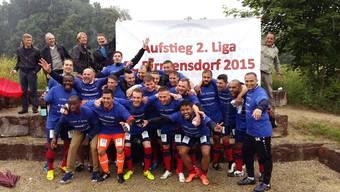 Aufstiegsfeier FC Birmensdorf