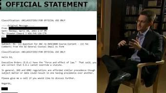 Edward Snowden: Hat er sich wirklich intern beschwert über die Missstände bei der NSA?