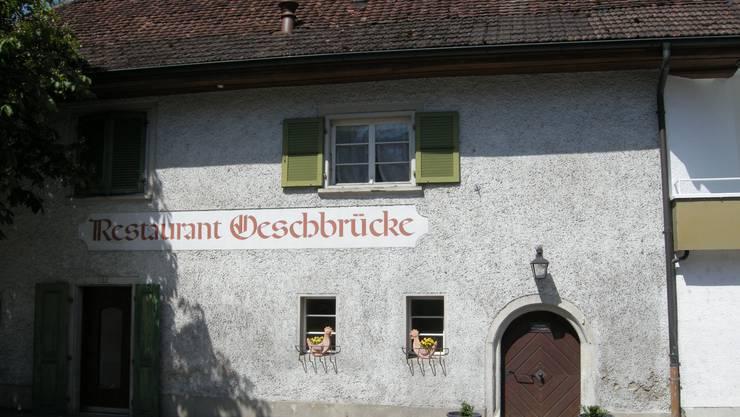 Das Restaurant Oeschbrücke in Subingen