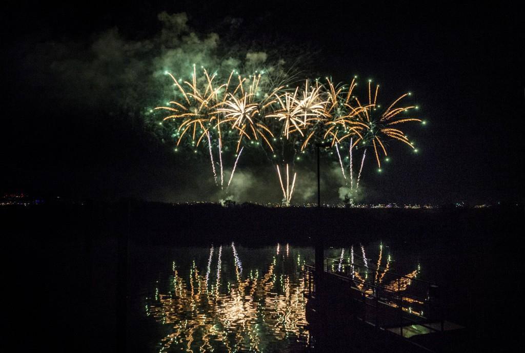 Feuerwerk und Wassershow in Kreuzlingen (© Thurgauer Zeitung)