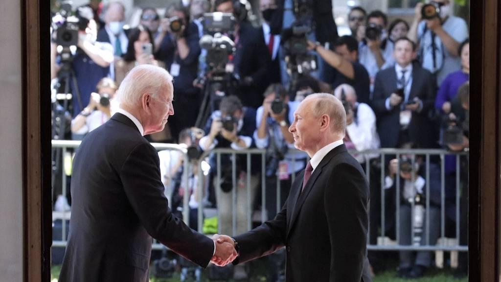 Gipfeltreffen von Putin und Biden nach gut drei Stunden beendet