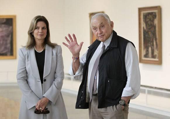 Leslie Wexner und seine Frau. Der Milliardär hat jahrelang Epstein vertraut.