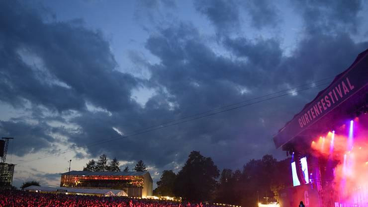 Zufriedene Besucher, zufriedene Organisatoren: Die Bilanz des diesjährigen Gurtenfestivals fällt positiv aus.