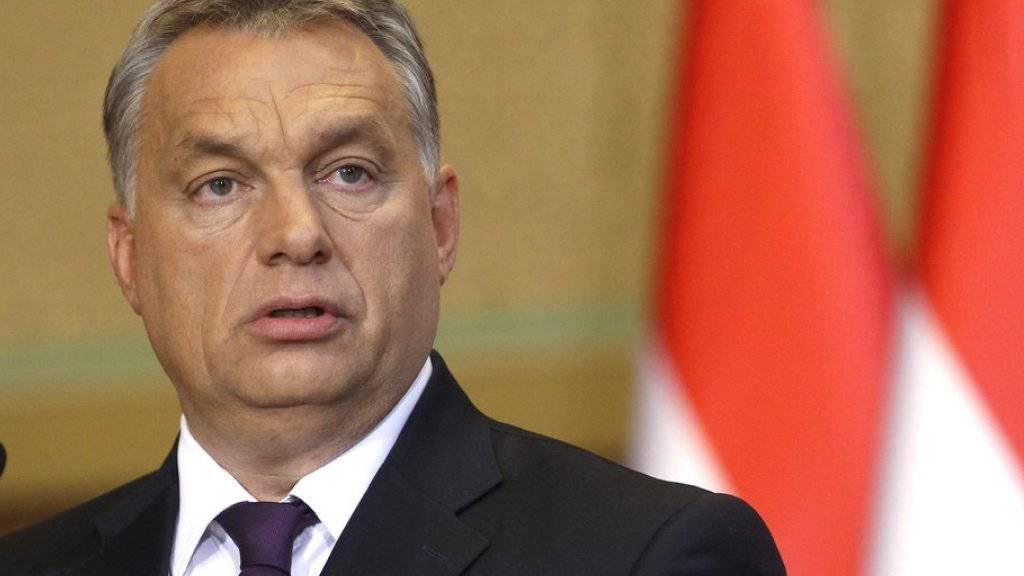 Viktor Orban ist im Parlament mit einem Gesetz gegen die Flüchtlingsquote der EU gescheitert.(Archivbild)