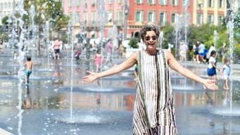 Sabina Freiermuth in Nizza.