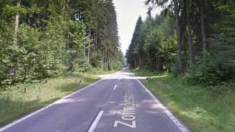 Die Strasse durch den Boowald. (Archiv)