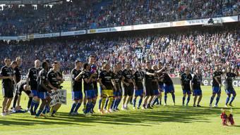 Der FC Basel feiert seinen 5. Meistertitel in Folge.