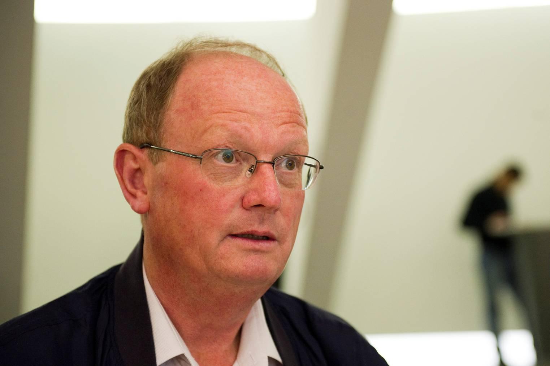 Bruno Eberle im Pfalzkeller