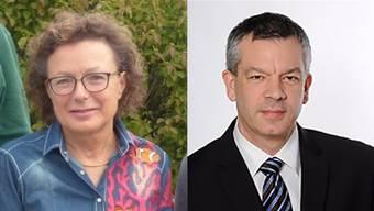 Gisela Taufer und Peter Frick kämpfen um das Gemeindepräsidium