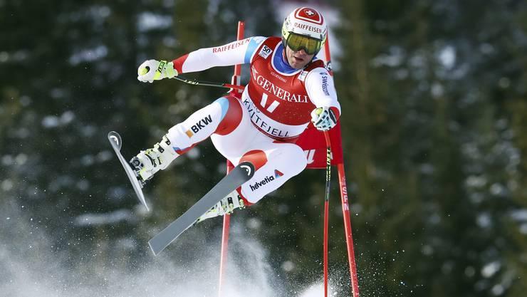 Beat Feuz im Einsatz während des letztjährigen Rennen in Kvitfjell.