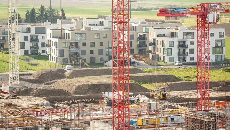 Viele neue Wohnungen sind wegen der Einwanderung gefragt.