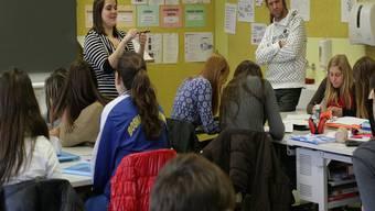 Die Schule Wohlen braucht mehr Platz – der lang erwartete Schulraumbericht soll Details aufzeigen. ama