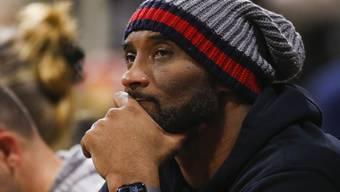 Kobe Bryant bei einem Basketballspiel im letzten Dezember