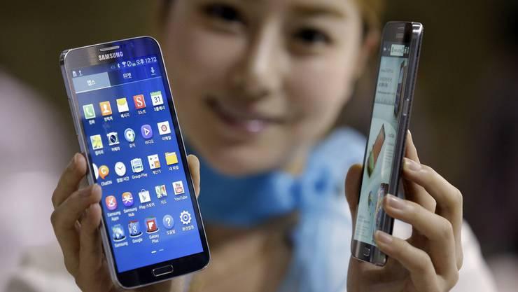 Dominanz bei den Smartphones verhelfen Samsung zu Rekordgewinn