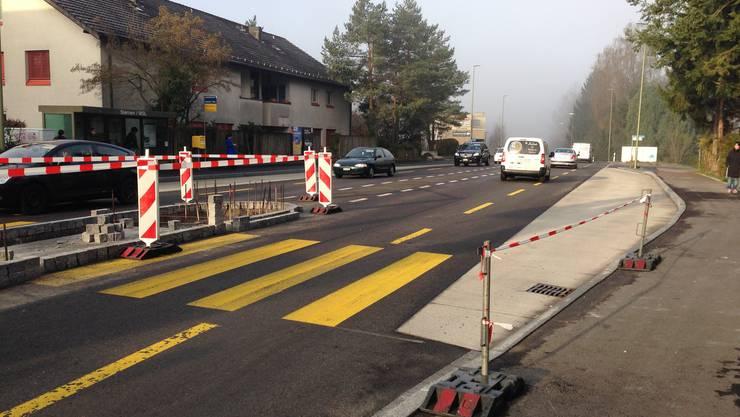 Der Ursprung der Aufregung: Die Baustelle an der Zürcherstrasse in Birmensdorf.