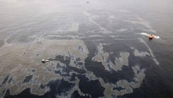Die Ölpest vor der brasilianischen Küste kommt den Ölmulti Chevron teuer zu stehen (Archiv)