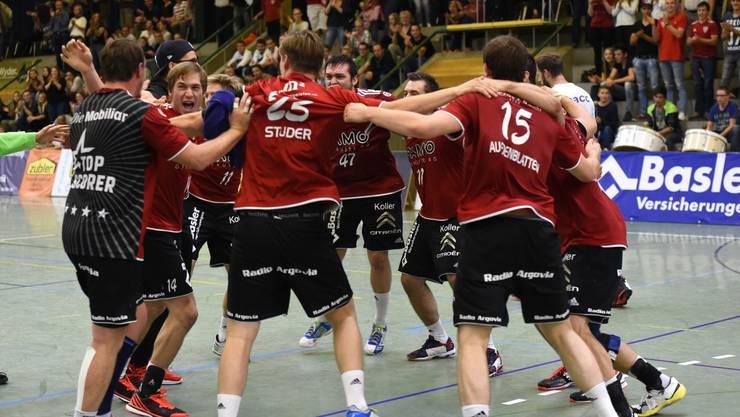 Die erste Saisonhälfte verlief für den HSC Suhr Aarau sehr gut - jetzt gilt es dort weiterzumachen, wo man aufgehört hat.