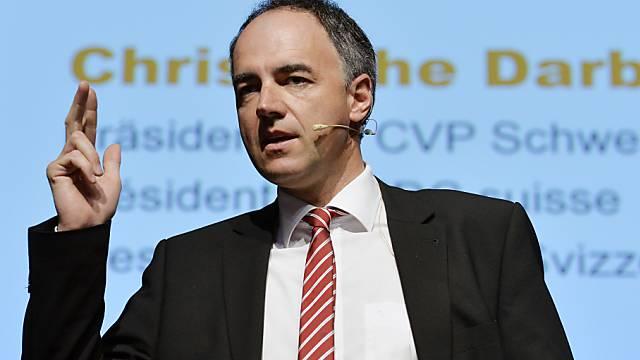 Im März empfing Parteipräsident Christophe Darbellay Vertreter der LDK im Bundeshaus.
