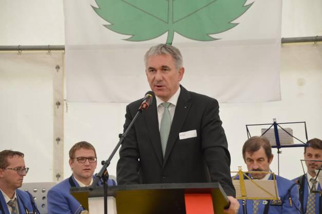 Regierungsrat Alex Hürzeler