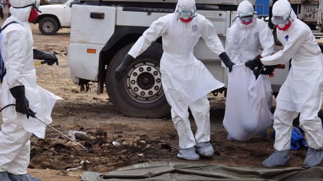 Kampf gegen Ebola in Liberias Hauptstadt Monrovia (Archiv)