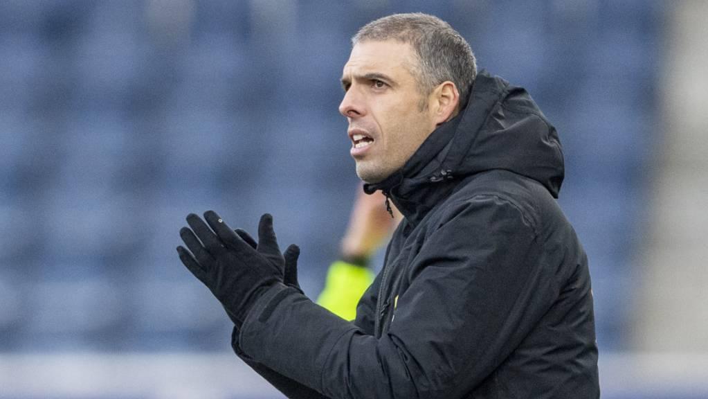 Fabio Celestini hofft darauf, dass der FC Luzern in Lugano für einmal ohne Fehl und Tadel bleibt
