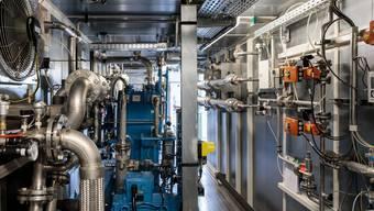 Eröffnung Biogasanlage der ARA und SWG