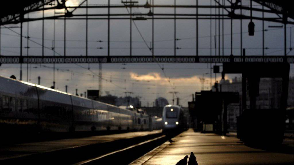 Abends in den Zug steigen, am Morgen in einem Pariser Bahnhof wie der Gare de Lyon aufwachen: Das ist nicht nur romantisch, sondern schont auch das Klima. (Symbolbild)